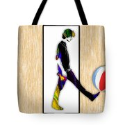 Walking Out Of Picture Frame Tote Bag