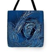 Water Rose Tote Bag