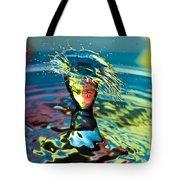 Water Splash Having A Bad Hair Day Tote Bag