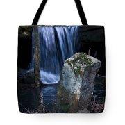 Waterfall At The Ruins Tote Bag