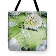 Wedding Table Tote Bag