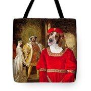 Welsh Springer Spaniel Art Canvas Print  Tote Bag