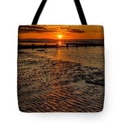 Welsh Sunset Tote Bag