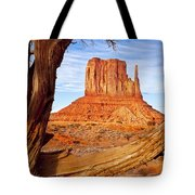 West Mitten Monument Valley Tote Bag
