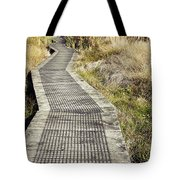 Wetland Walk Tote Bag by Les Cunliffe