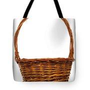 Wicker Basket Number Twelve Tote Bag