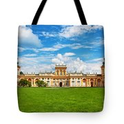 Wilanow Palace In Warsaw Poland Tote Bag