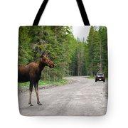 Wild Moose Tote Bag