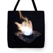 Windy Fire Tote Bag