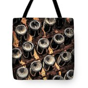 Wine Bottles Tote Bag by Elena Elisseeva