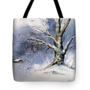 Winter Tree Tote Bag