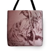 Wise Old Goat Tote Bag
