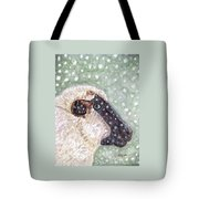 Wishing Ewe A White Christmas Tote Bag