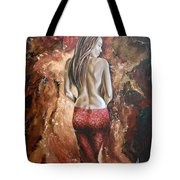 Woman's Portrait Tote Bag