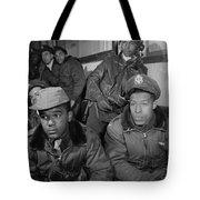 Wwii: Tuskegee Airmen, 1945 Tote Bag
