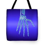 X-ray View Of Human Hand Tote Bag