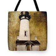 Yaquina Head Lighthouse - Oregon Tote Bag