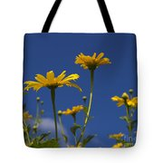 Yellow Buttons Tote Bag