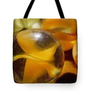 Yellow Marbles Tote Bag