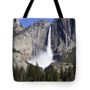 Yosemite Falls Tote Bag