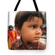 Young Boy Orchha  Tote Bag