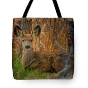 Young Mulie Tote Bag