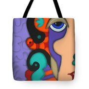 Your Wildest Imagination Tote Bag