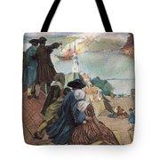 Battle Of Bunker Hill, 1775 Tote Bag