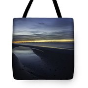 20 Degree Beach Sunrise Tote Bag
