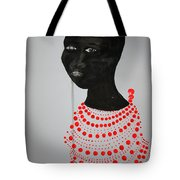 Dinka Bride - South Sudan Tote Bag