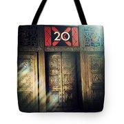 20 Exchange Place Art Deco Tote Bag