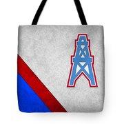 Houston Oilers Tote Bag