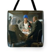 20. Jesus Appears At Emmaus / From The Passion Of Christ - A Gay Vision Tote Bag