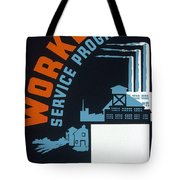New Deal Wpa Poster Tote Bag