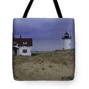 Race Point Light 1 Tote Bag