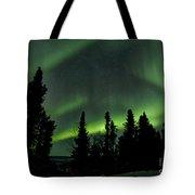 The Aurora Borealis Tote Bag