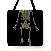 The Skeleton Tote Bag
