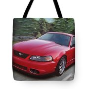 2001 Ford Mustang Cobra Tote Bag