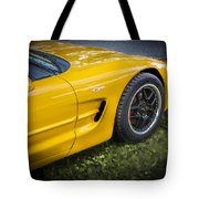 2002 Chevrolet Corvette Z06 Tote Bag