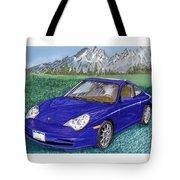 2002 Porsche 996 Tote Bag
