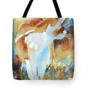 2004 Cat On The Prowl  I  Tote Bag
