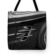 2002 Corvette Ls1 5 7ltr B W Tote Bag