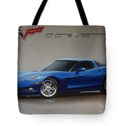 2005 Corvette Tote Bag