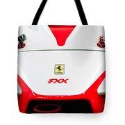 2005 Ferrari Fxx Evoluzione Hood Emblem Tote Bag