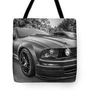 2005 Ford Mustang Convertible Bw  Tote Bag