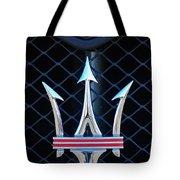 2005 Maserati Gt Coupe Corsa Emblem Tote Bag