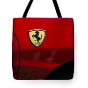 2007 Ferrari F430 Spider F1 Tote Bag