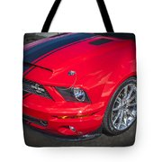 2007 Ford Mustang Shelby Gt500 427  Tote Bag