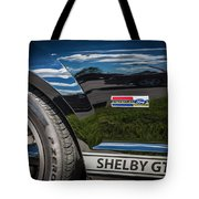 2007 Ford Mustang Shelby Gt500 Painted   Tote Bag