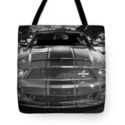 2007 Ford Mustang Shelbygt 500 427 Bw Tote Bag